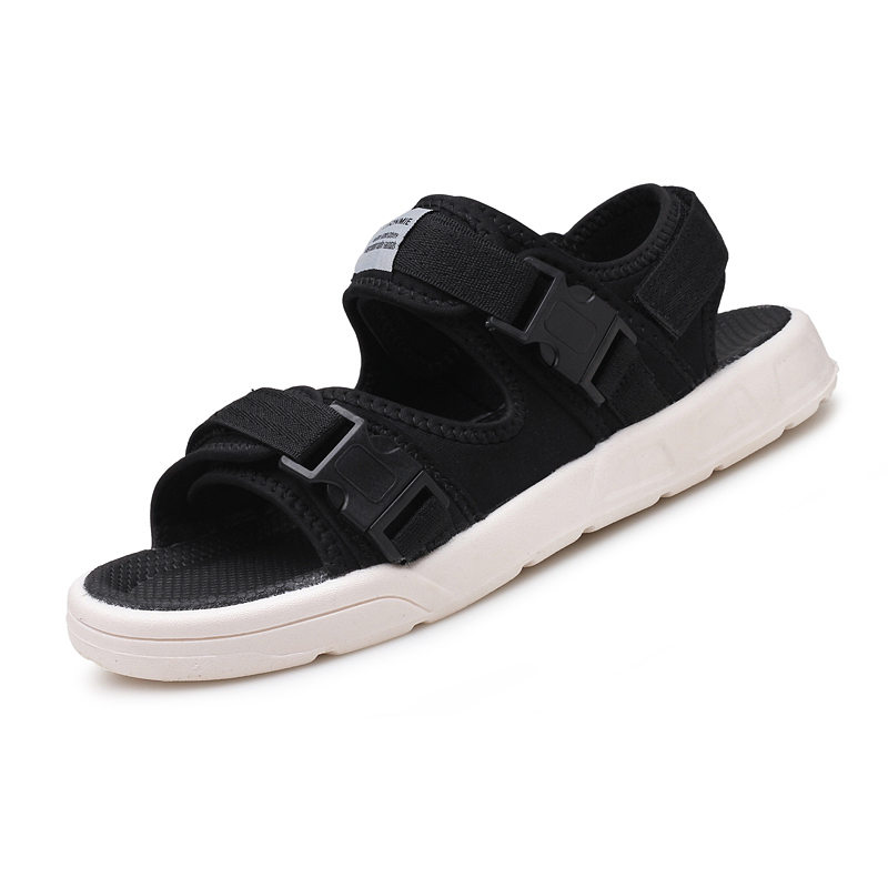 Mens fashion Korean casual sandals tide men 2018 summer new comfortable breathable sandals students sandals dual-use shoes