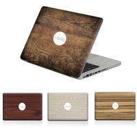 تأثير الخشب محمول لصائق ملصقا الجلد ل ماك بوك اير برو الشبكية 11