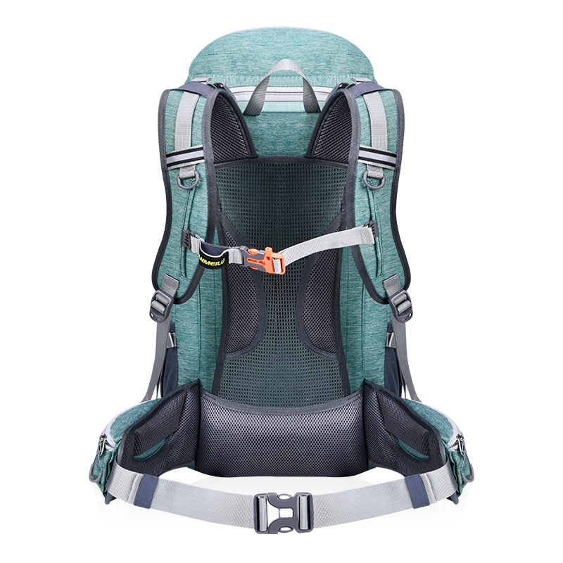 ANMEILU Men Women Travel Backpack 50L Waterproof Bicycle Backpack Outdoor Camping Hiking Climbing Bags-in Climbing Bags from Sports & Entertainment    2