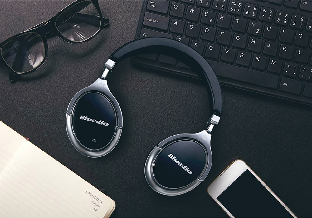 Active Noise Cancelling Bluetooth Headphones by Bluedio F2 brandtech.pk pakistan