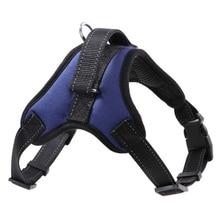 Новая мода животное ошейник жилет Профессиональный Собака бюст удобные нейлоновая сетка зоотоваров плечевой ремень S-XL