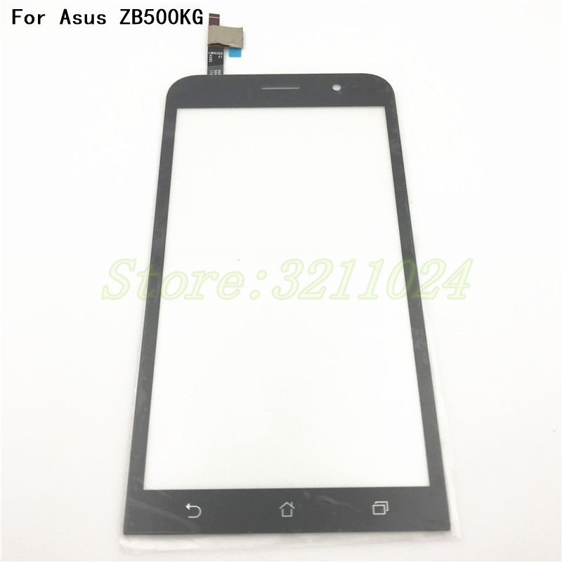 5.0'' For Asus Zenfone Go 5 Lite ZB500KG Digitizer Touch Screen Panel Sensor Lens Glass Replacement+Tools