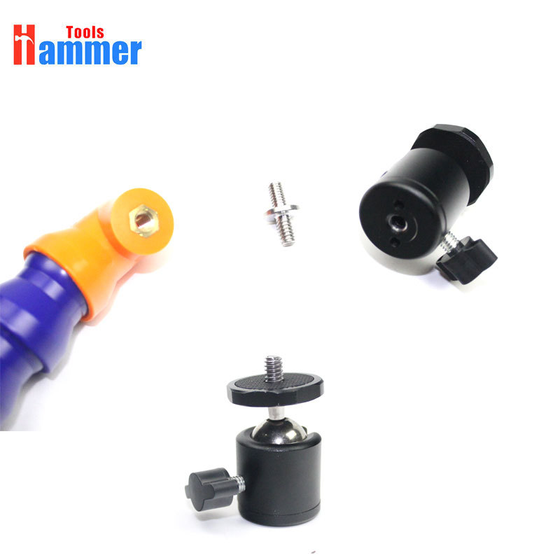 Pipe 3 Cup KING Gooseneck With Dent Suction Heavy Hand Flexible Pump Lamp For Duty Inch Car