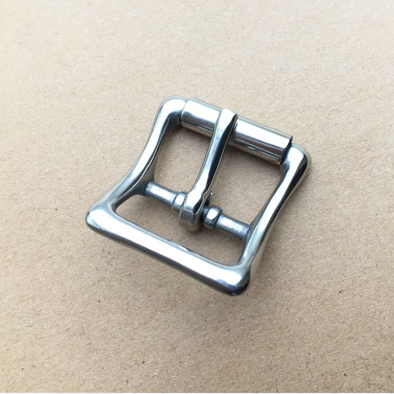 10PCS Per Lot Stainless Steel Pin Buckle Leather Craft Buckle For Garment Bag Buckle Inside Width 25mm Utility Buckle