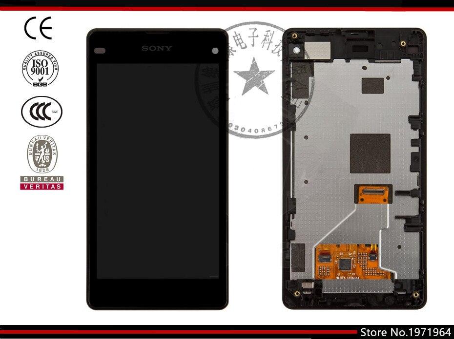 Pantalla lcd de pantalla para sony d5503 xperia z1 compact mini teléfono celular
