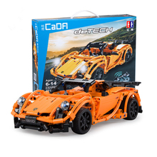 Technic Super Sportscar RC Car 918 Model DIY Building Blocks Remote Control Cars Bricks Toy for Children Gifts все цены