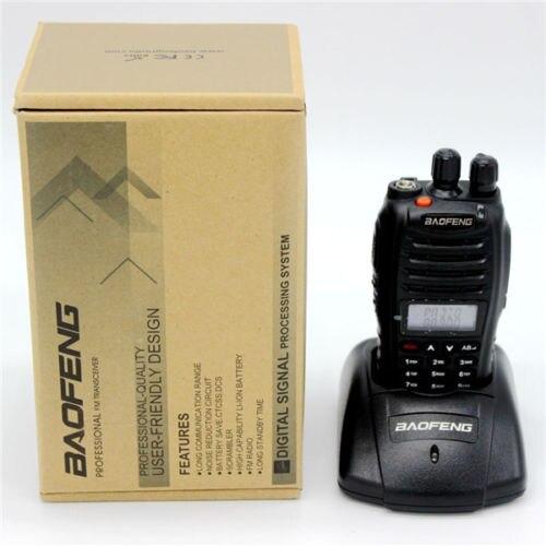 Baofeng UV B5 Walkie Talkie 5W 99CH UHF VHF Handy Hunting Radio Receiver With Headfone UHF