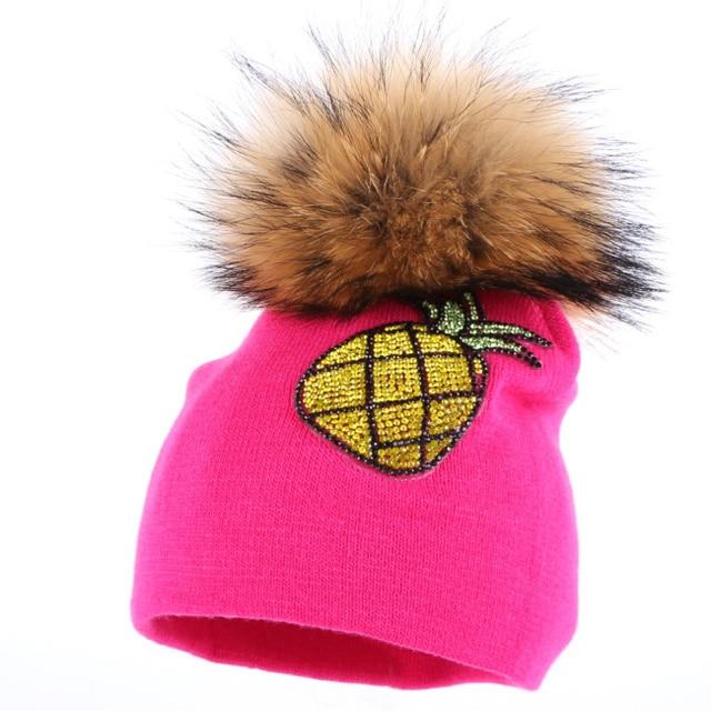 2952d1ddb38 Pas cher promotion bébé d hiver chapeau 0-2 ans enfants de mode skullies