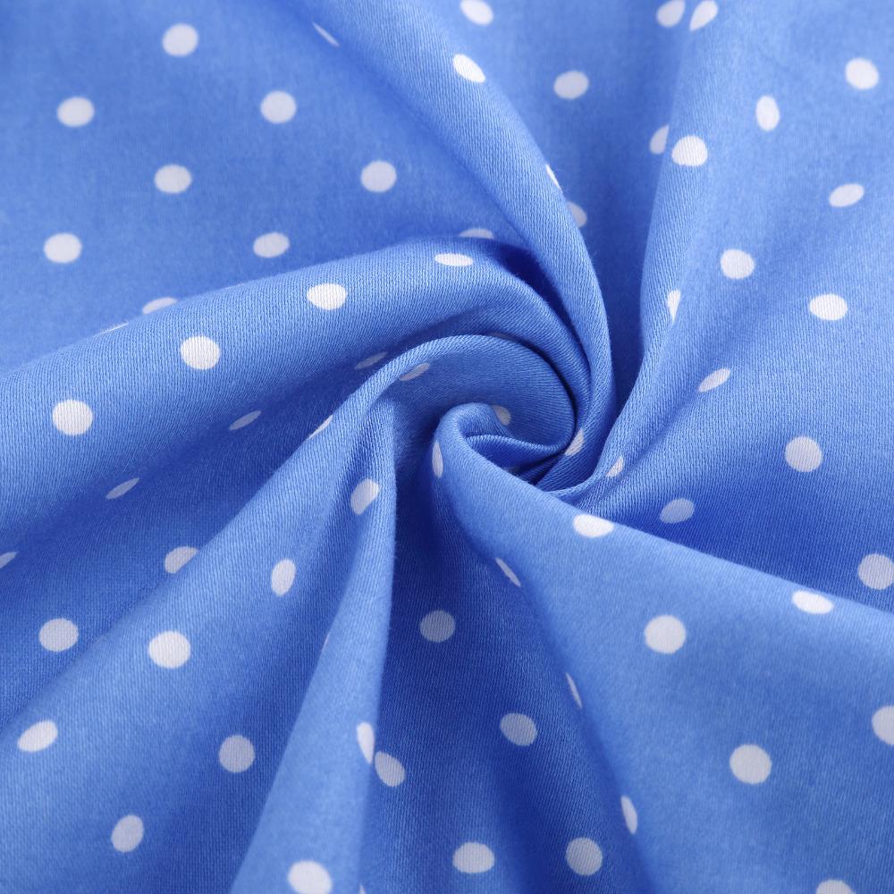 Grace Karin Flower Girl Dresses for Weddings 2017 Sleeveless Polka Dots Printed Vintage Pin Up Style Children's Clothing 25