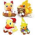 4 стили симпатичные Аниме Final Fantasy VII Chocobo Плюшевые мягкие чучела Животных куклы игрушки для детей подарки