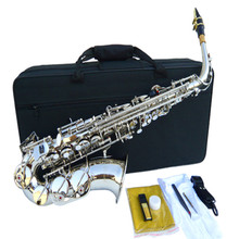 11.11 France Selmer 54 Alto Saxophone Top Musical Instrument Saxe Wear-resistant All color Plated silver Professional Sax
