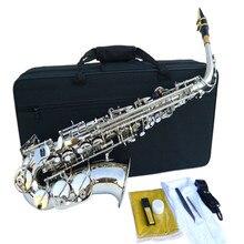 Frankreich Selmer 54 Altsaxophon Top Musikinstrument Saxe verschleißfest Alle farbe Überzogen silberne Professionelle Sax