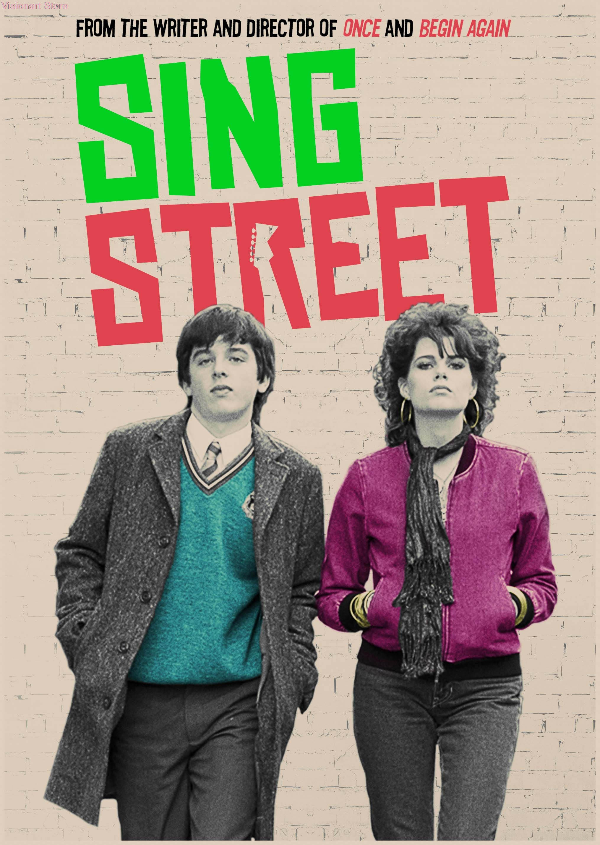 Sing Street Posters Movie POSTERS Vintage Posters Home Decor Wall Stickers MO93