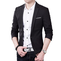 2016 Men Suits Jacket Casaco Terno Masculino Suit Cardigan Jaqueta Wedding Suits Jacket CN Size S