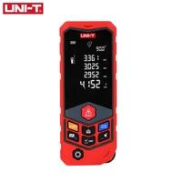 UNI T LM50D LM100D Handheld Laser Distance Meter 50M 100M Digital Battery Powered Trena a Laser Range Finder Measure Tape