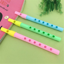 2Pcs Pipes Musical Instrument Developmental Toy Music Educational Toy For Children Kids Xmas Gifts 21.9*2cm