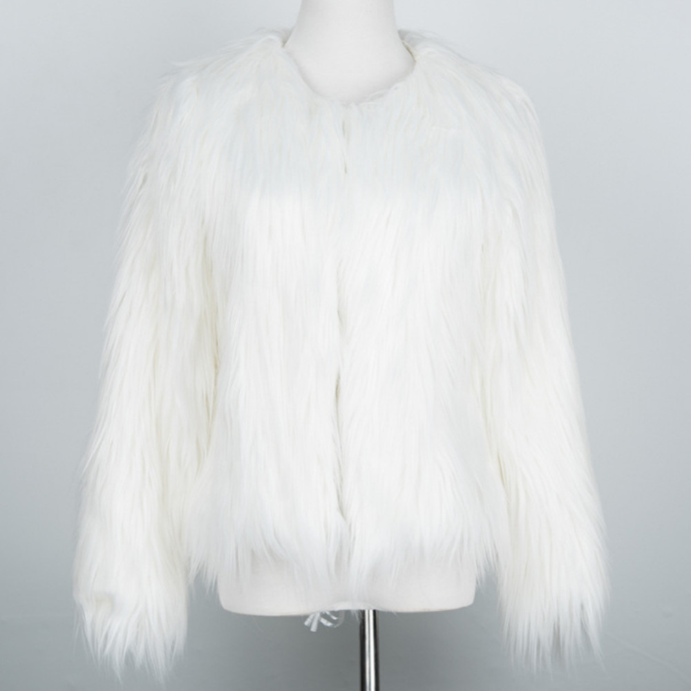 Chic Soft Faux Fur Coat 13