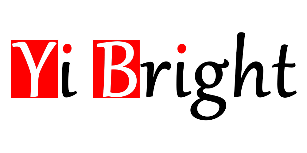Лого бренда YI BRIGHT из Китая