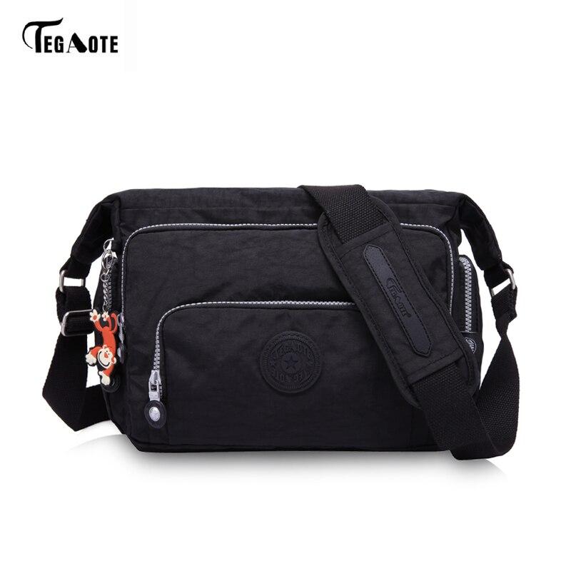Tegaote женская сумка для Для женщин сумка женская Bolsa feminina пляжные Сумки Водонепроницаемый дорожная сумка Для женщин сумка