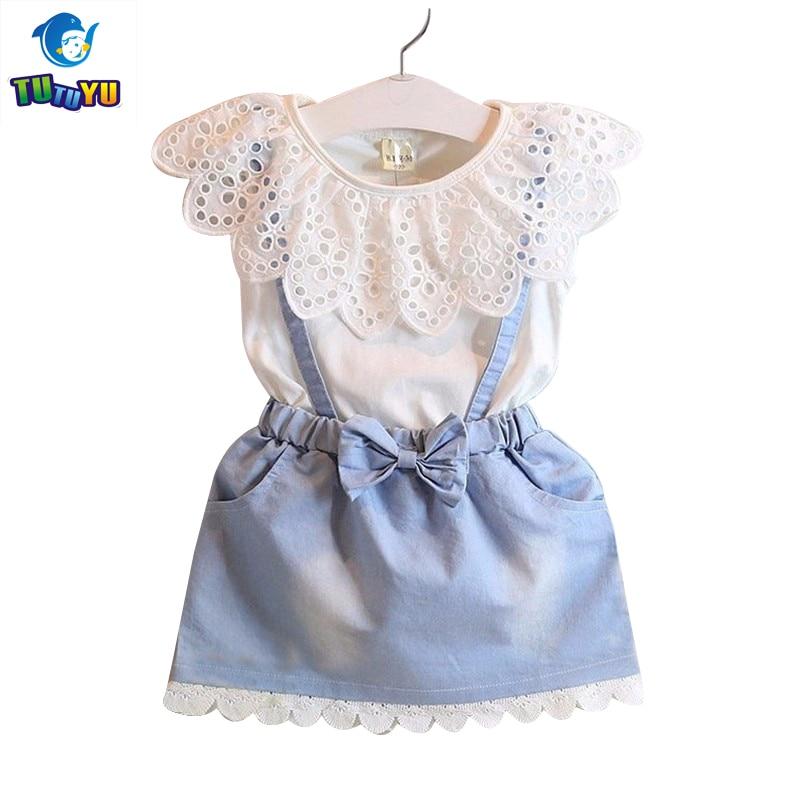 5a748f1b3261 ... Girls Dresses Girls Cute Dress White Belt Denim Dress Sleeveless Cotton  Summer Dress Lovely Girls Clothes New Arrival - Best Kids Clothing Stores  Online