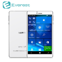 Cubo WP10 tabletas 4G Quad Core tablet pc Windows 10 Mobile 2 GB/16 GB 1.3 GHz IPS M8909 MSM8909 GPS GPS de Doble Modo de Espera de windows tablet