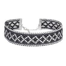Mode Choker Ketting Dames Katoen Handgeweven Touw Sieraden Bedel Collares NR3636