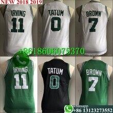 4ba94e2aae21 Free shipping A+++ quality Youth Kids  11 Kyrie Irving 0 Jayson Tatum 7  Jaylen Brown Jersey Boston