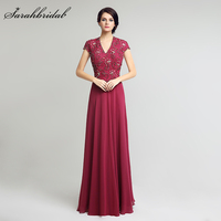 New Arrive Elegant Magenta Mother Of The Bride Dresses 2017 A Line Nude Special Occasion Evening