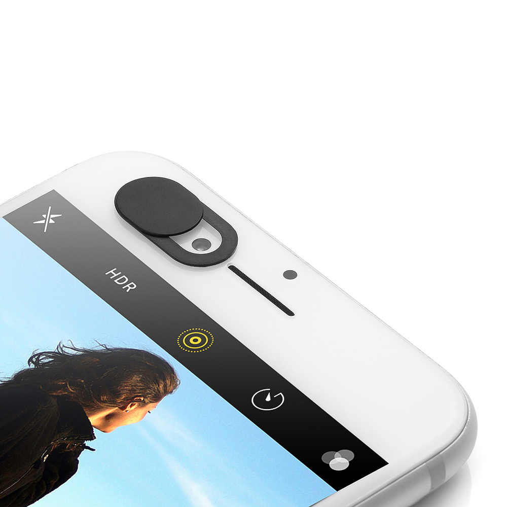6PCS האוניברסלי WebCam כיסוי תריס מגנט מחוון פלסטיק מצלמה כיסוי עבור Samsung Xiaomi IPhone PC מחשבים ניידים טלפון נייד עדשה