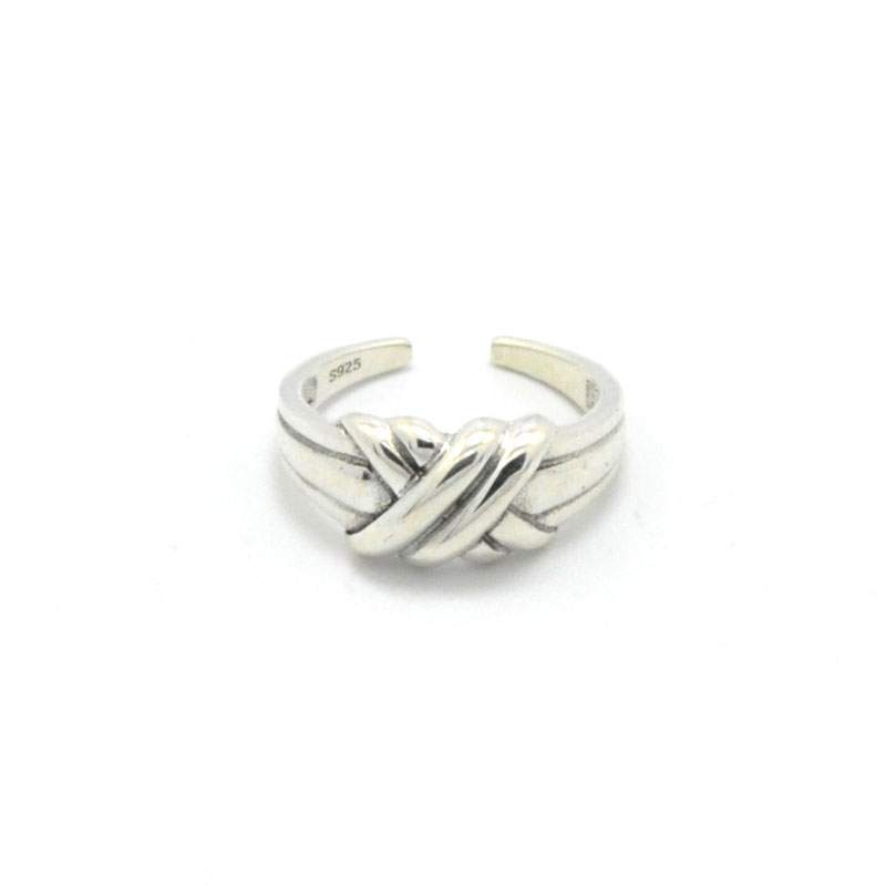 Vingtage Jewelry Charm 925 Sterling Silver Rings
