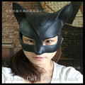 2016 New Dancing Party Mask Sexy Ball Latex Mask Girls Catwoman Masquerade Cat Halloween Fancy Dress Costume Black Cat Mask Toys