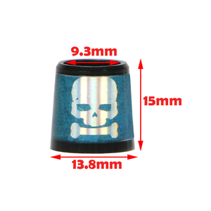 Image 5 - skull golf ferrules for irons and wedges spec : inner * higher* outer size 9.3 *15*13.8 mm free shipping