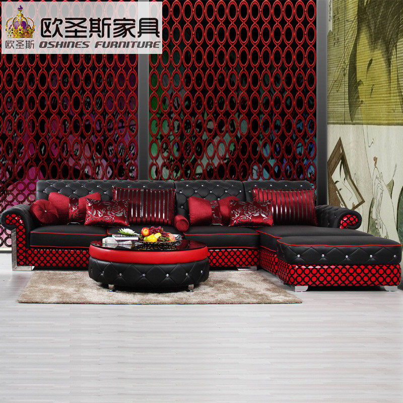 european leather sofa set living room sofa china l shape cor