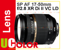 Genuine New Tamron SP AF 17-50mm f/2.8 XR Di-II VC LD For Canon