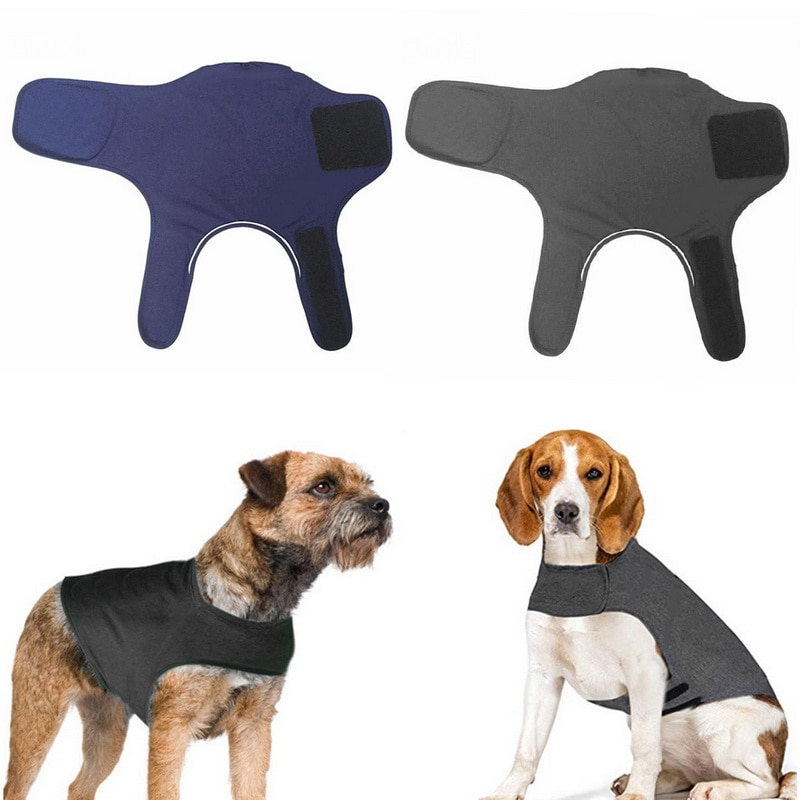 Hoomall 1pc Dogs Body Protection Dog Wrap Puppy Pet Supplies Pet Emotional Appeasing Clothes For Dog Pets Anxiety Calm Jacket