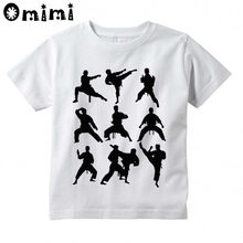 Kids Jiu Jitsu Design T Shirt Boys and Girls Great Casual Short Sleeve Tops Children's Funny T-Shirt(China)