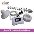 Nova atualização!! 2g 4g DCS 1800 mhz celular amplificador de sinal de reforço 2g 4g repetidor de sinal de celular com Smart display LCD 350m2