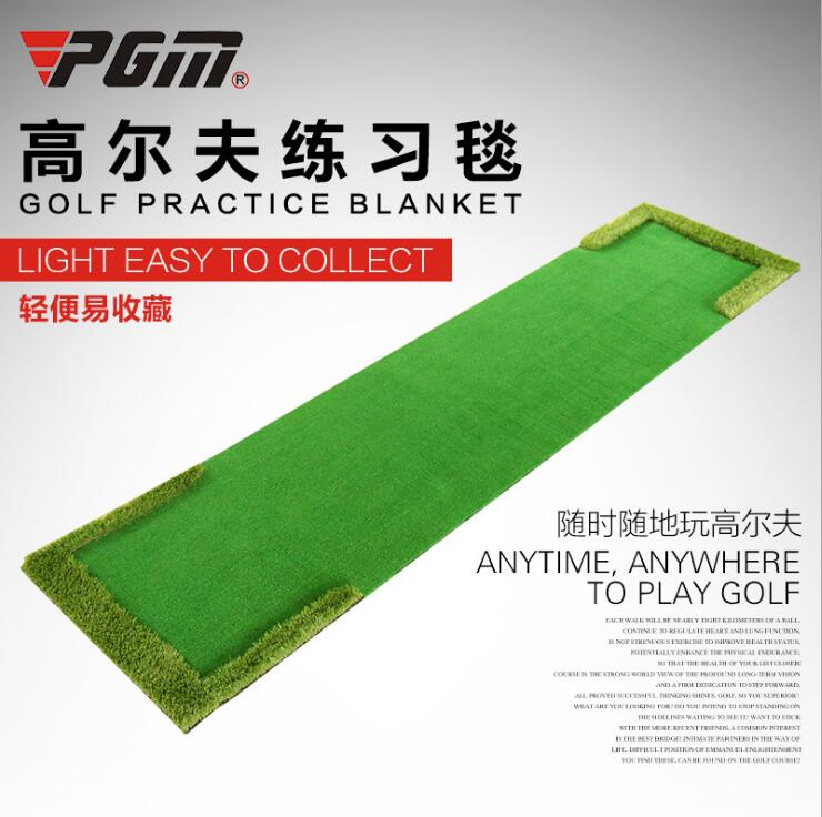 new GOLF indoor golf putting practice 0.58m*3m blanket monochrome artificial green exercise putting green golf putting mat mini golf putting trainer with automatic ball return indoor artificial grass carpet
