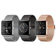 Zw61 smart watch bluetooth mp3 smartwatch armbanduhr unterstützung gsm sim tf karte anruf erinnerung pedometer-verlorene für android