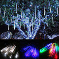 Multi-color 30cm/50cm LED Lights Meteor Shower Rain Tubes Garden Light Christmas Lights Wedding Party String Light Outdoor Light