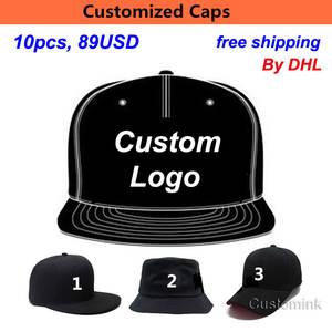 ded2f0f6eb0 ZEFIT 10PCS LOT Kid Baseball Hat Custom Snapback Cap