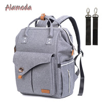 Alameda Multi function Diaper Bag Mummy Maternity Bag Travel Backpack For Moms Baby Bag with Stroller Straps for Baby Care
