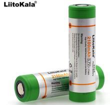 2PCS Liitokala 100% Original 3.6V 18650 VTC4 2100mAh High drain 30A battery For Electronic cigarettes Free shipping!!!