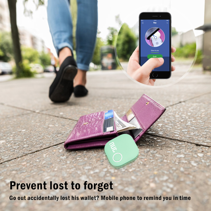 NUT Wireless and Anti-lost Smart Tracker with GPS and Bluetooth Connectivity for Child/Bag/Wallet/Key 10