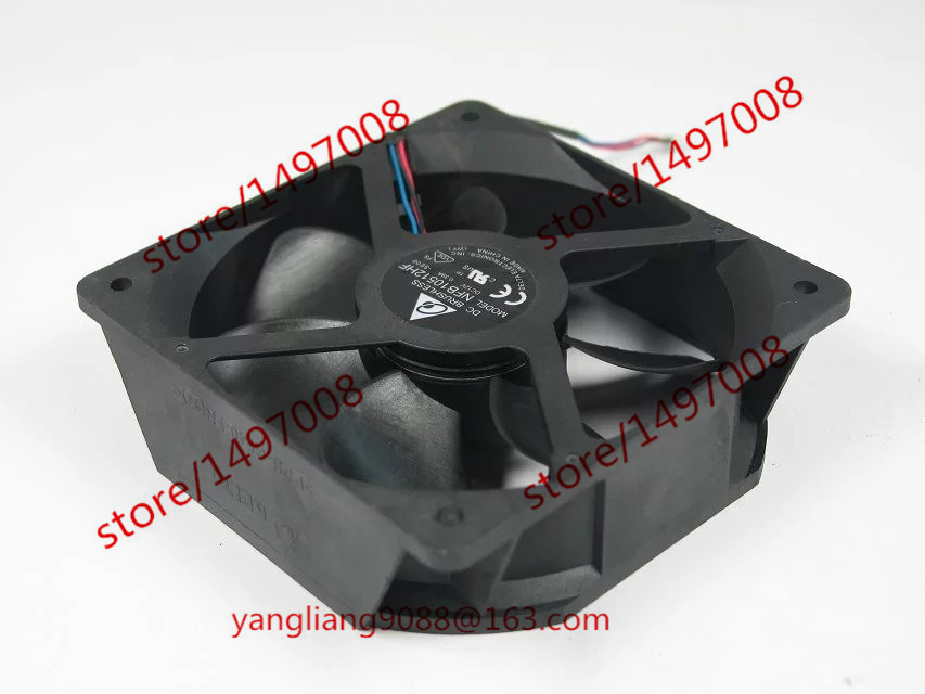 Delta NFB10512HF SE00 DC 12V 0.39A 105X105X32mm Server Square Fan dc shoes кеды dc heathrow se 11