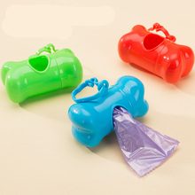 Pet Dog Waste Poop Bags Dispenser Bone Shape Pet Waste Bag Holder For Small Dog Dispenser Poop Bags Holder Accessories Large