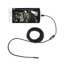 Инспекционной андроид эндоскоп бороскоп смартфонов эндоскопа объектив камера пк micro кабель