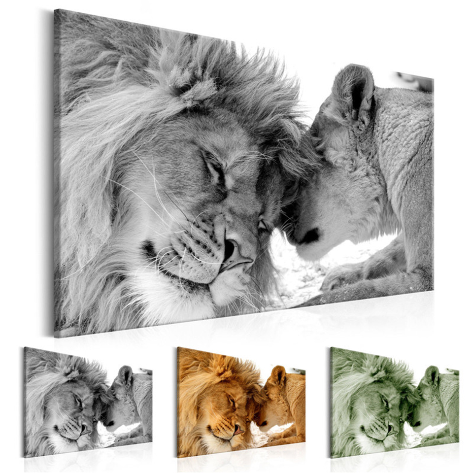 The-King-of-Animals-Canvas-Painting-Cute-Leopard-Lion-Posters-and-Prints-Photo-Wall-Art-Pictures