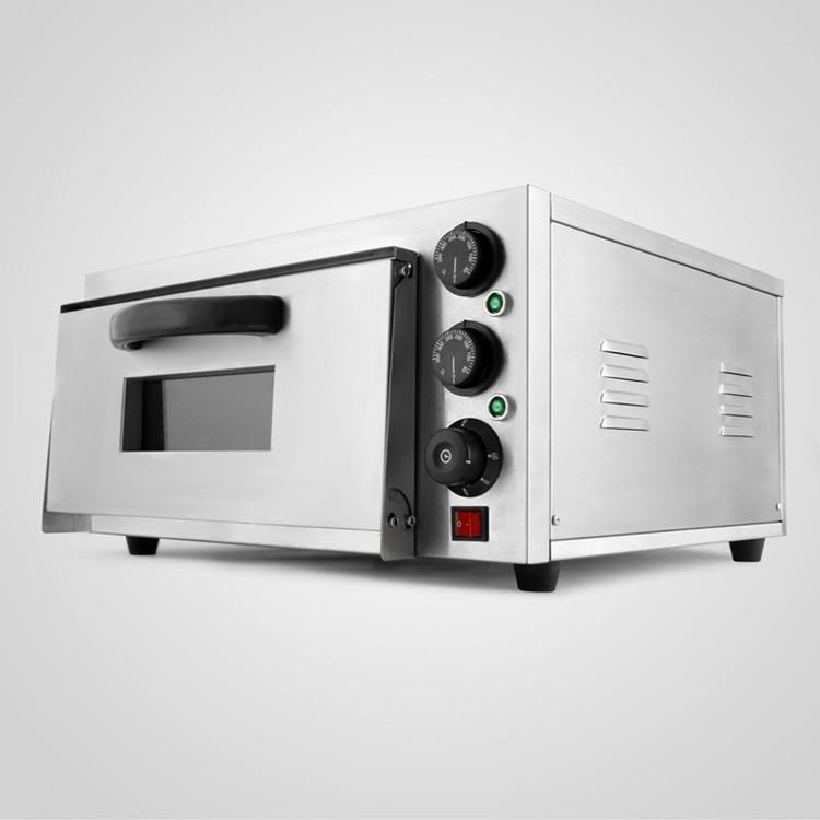 Conservação de energia Moderna Design Forno de Pizza Deck Single 2kW Cozimento Elétrica Comercial - 4
