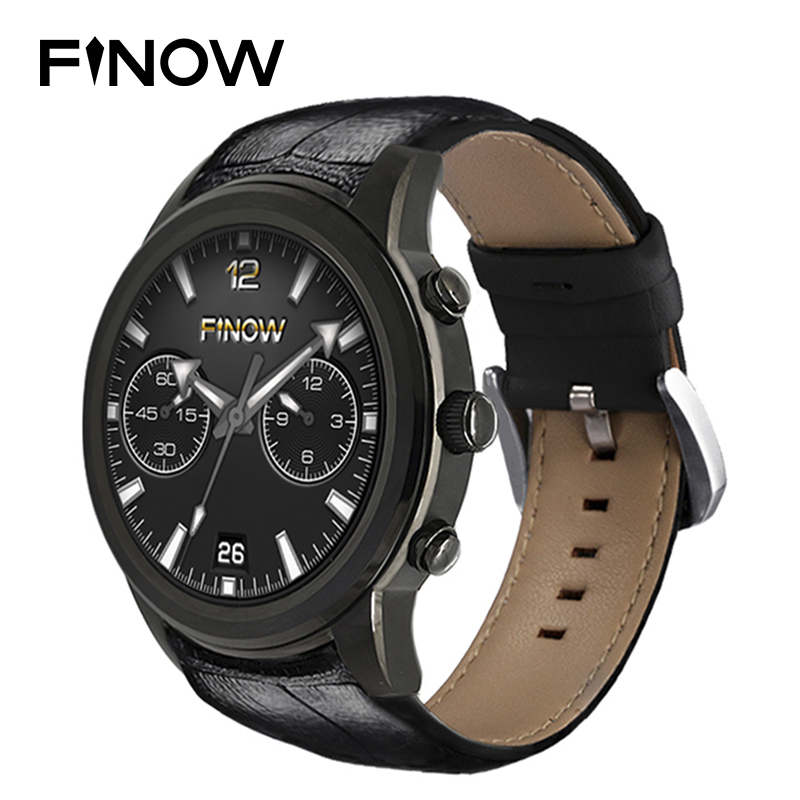 2018 Finow X5 Air Android Smart Watch Men wacht MTK6580 Quad Core Watch phone Android 5.1 3G Bluetooth 4.0 Sport Smartwatches цена